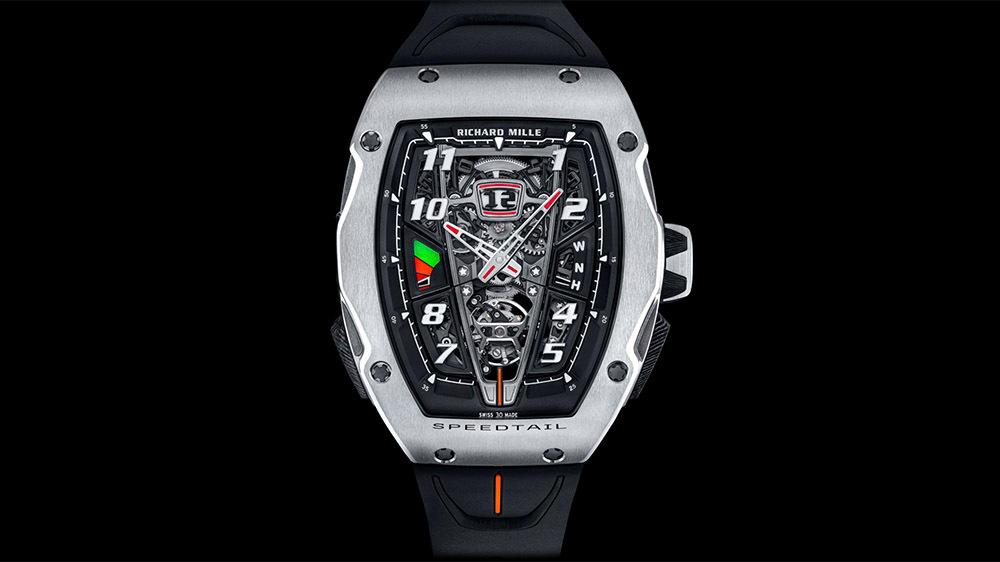 McLaren X Richard Mille   Cel mai puternic ceas inspirat de un supercar