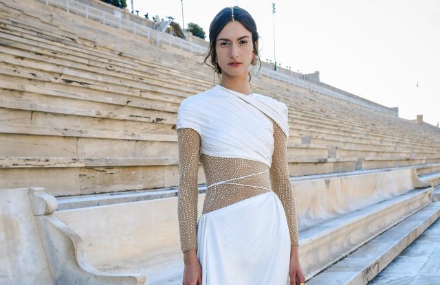 Dior canalizează spiritul olimpic pentru spectacolul de croazieră din Grecia