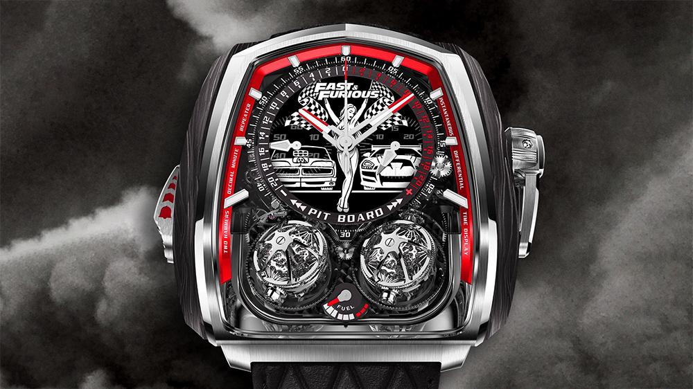 Jacob & Co. | Ceas dedicat seriei Fast & Furious de 580.000 $