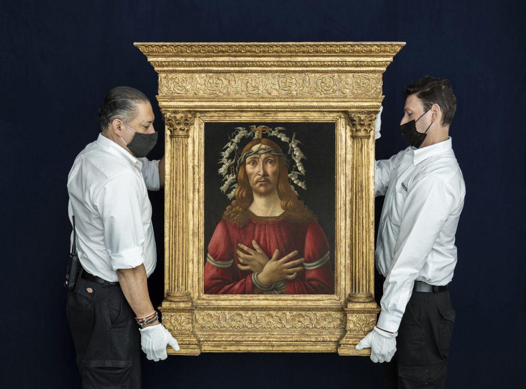 Licitații   Tabloul rar de Botticelli estimat la 40 de milioane de dolari